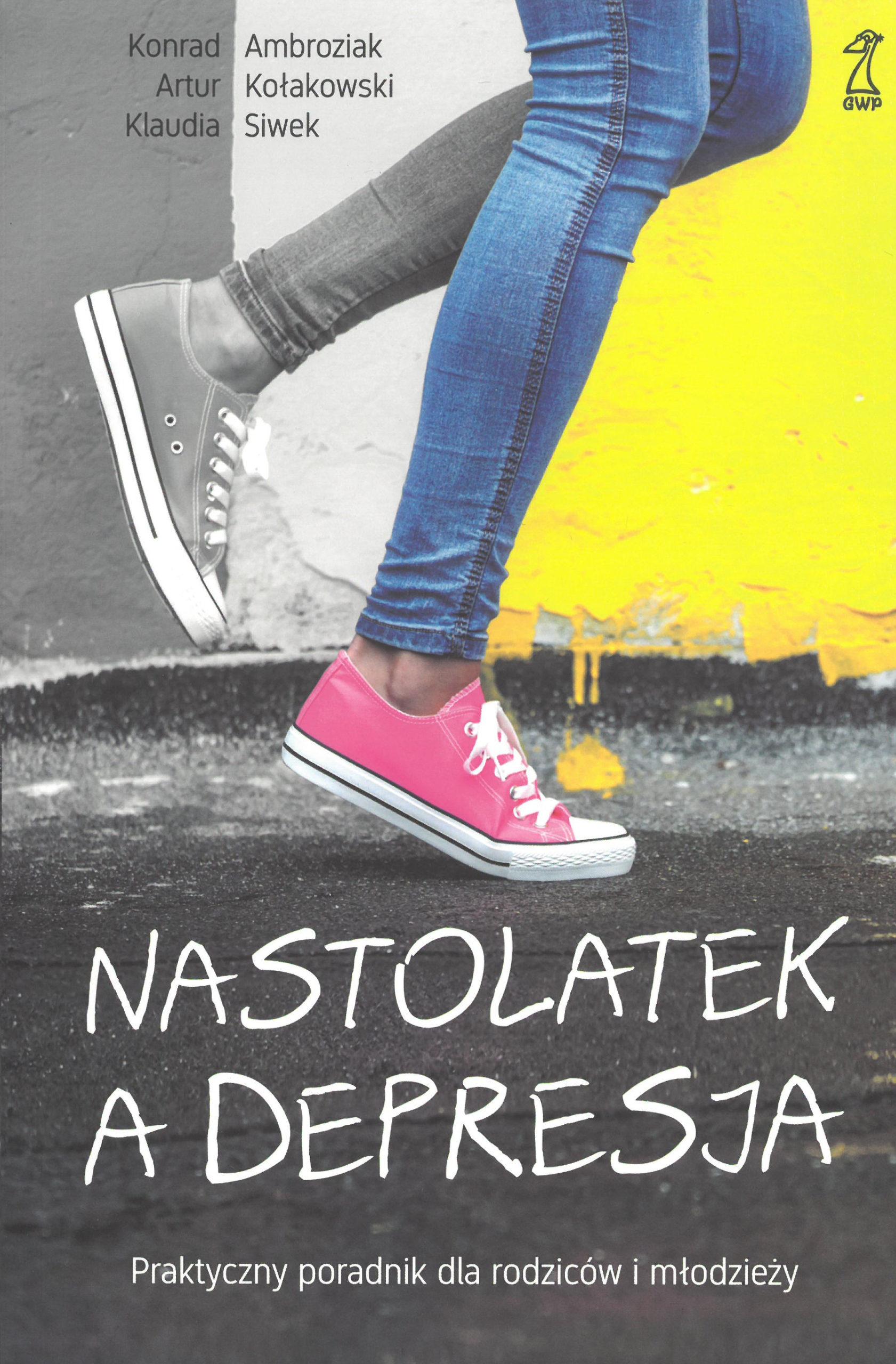 """Zdjęcie przedstawia książkę """"Nastolatek a depresja"""""""