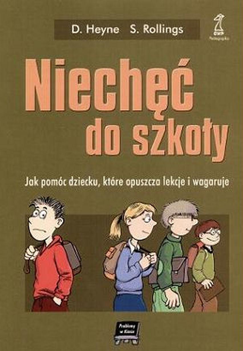 """okładka książki """"Niechęć do szkoły"""""""
