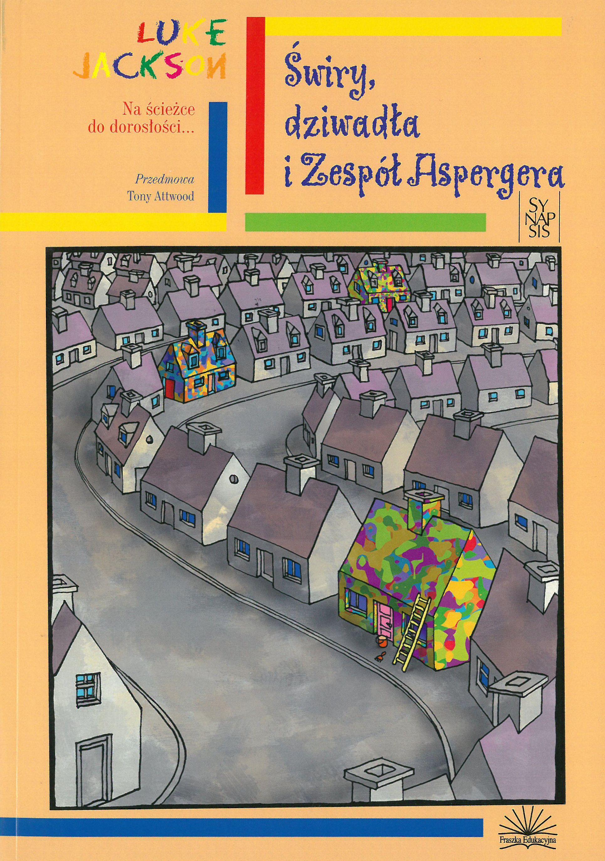 """okładka książki """"Świry, dziwadła i Zespół Aspergera"""""""